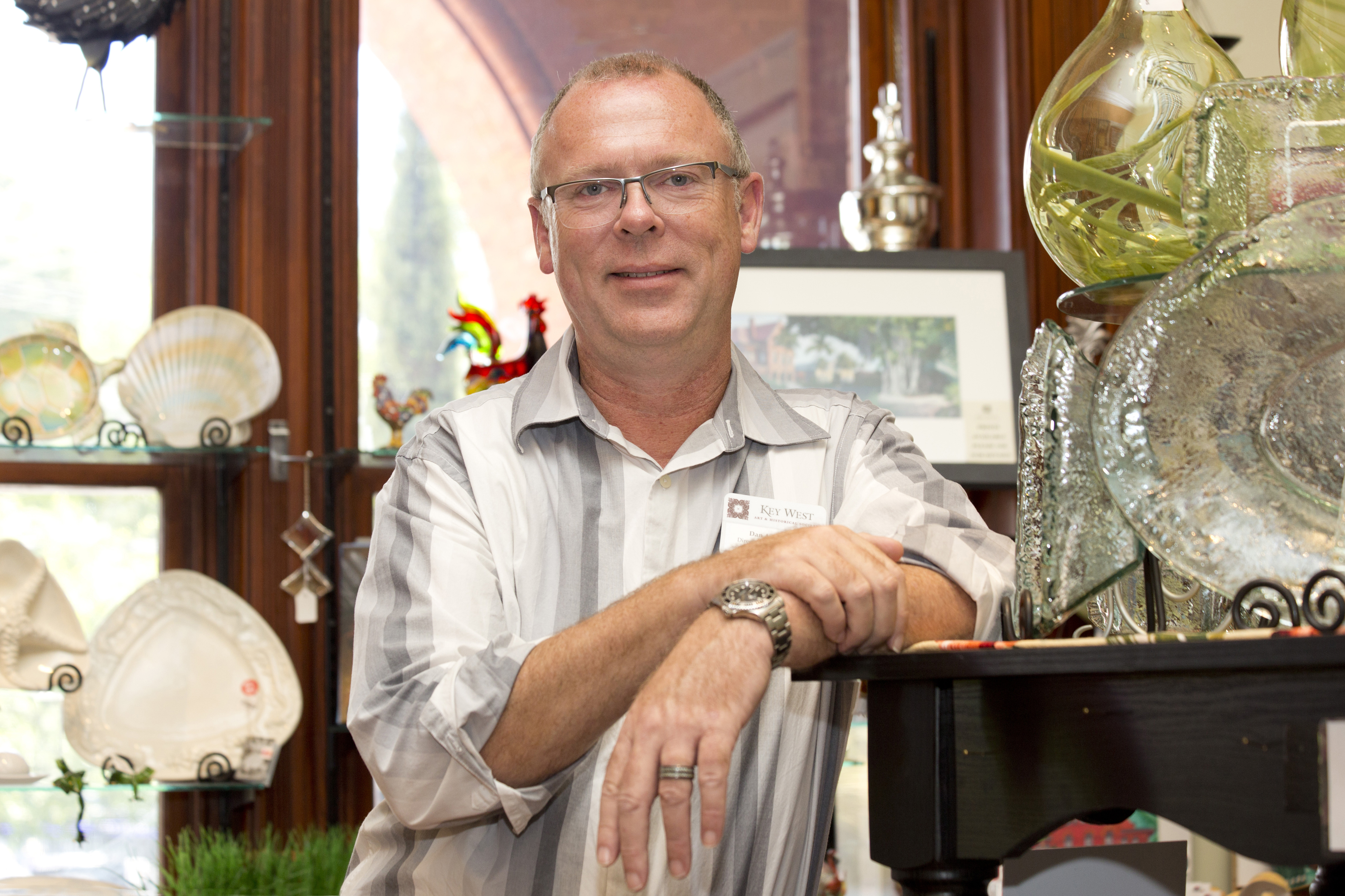 Dan Ayers-Price, Key West Art & Historical Society Director of Retail
